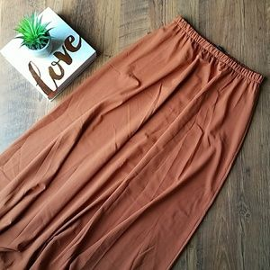 💕 Forever 21 Copper Colored Maxi Skirt 💕